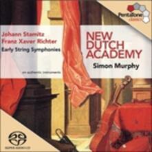 Sinfonie - SuperAudio CD ibrido di Johann Stamitz,Franz Xaver Richter,New Dutch Academy,Simon Murphy