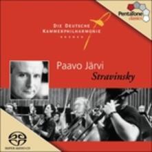 L'histoire du soldat - SuperAudio CD ibrido di Igor Stravinsky,Paavo Järvi,Orchestra Filarmonica da camera di Brema