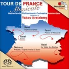 Tour de France - SuperAudio CD ibrido di Claude Debussy,Maurice Ravel,Gabriel Fauré,Netherlands Philharmonic Orchestra,Yakov Kreizberg