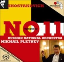 Sinfonia n.11 - SuperAudio CD ibrido di Dmitri Shostakovich,Mikhail Pletnev,Russian National Orchestra