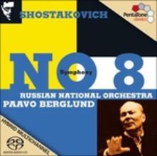 Sinfonia n.8 - SuperAudio CD ibrido di Dmitri Shostakovich,Paavo Berglund,Russian National Orchestra