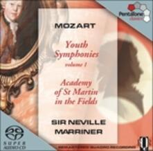 Sinfonie giovanili vol.1 - SuperAudio CD ibrido di Wolfgang Amadeus Mozart,Neville Marriner,Academy of St. Martin in the Fields