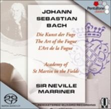 L'arte della fuga (Die Kunst der Fugue) - SuperAudio CD ibrido di Johann Sebastian Bach,Neville Marriner,Academy of St. Martin in the Fields