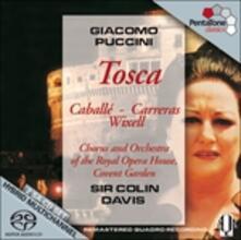 Tosca - SuperAudio CD ibrido di Montserrat Caballé,José Carreras,Samuel Ramey,Giacomo Puccini,Sir Colin Davis,Covent Garden Orchestra
