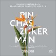 Brandenburg Concertos no - SuperAudio CD di Johann Sebastian Bach