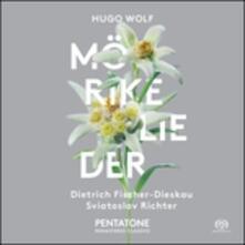Mörike Lieder - CD Audio di Sviatoslav Richter,Hugo Wolf,Dietrich Fischer-Dieskau