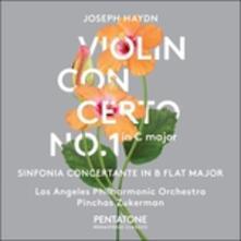 Concerto per violino in Do - Sinfonia concertante in Si bemolle - CD Audio di Franz Joseph Haydn