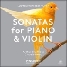 Sonate per pianoforte e violino - CD Audio di Ludwig van Beethoven