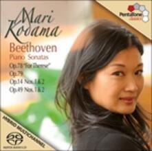 Sonate per pianoforte n.9, n.10, n.19, n.20 - SuperAudio CD ibrido + DVD di Ludwig van Beethoven,Mari Kodama