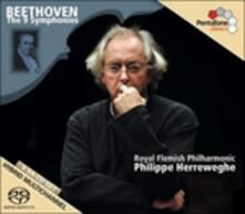 Sinfonie complete - SuperAudio CD ibrido di Ludwig van Beethoven,Philippe Herreweghe,Royal Flemish Philharmonic Orchestra
