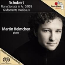 Sonata per pianoforte D959 - 6 Momenti musicali D780 - SuperAudio CD ibrido di Franz Schubert
