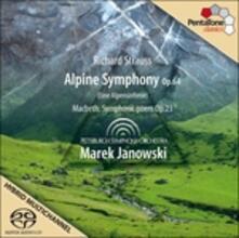 Sinfonia delle Alpi - Macbeth - SuperAudio CD ibrido di Richard Strauss