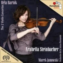 Concerti per violino n.1, n.2 - SuperAudio CD ibrido di Bela Bartok,Marek Janowski,Orchestre de la Suisse Romande,Arabella Steinbacher