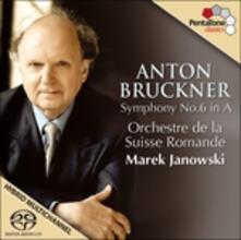 Sinfonia n.6 - SuperAudio CD ibrido di Anton Bruckner,Marek Janowski,Orchestre de la Suisse Romande