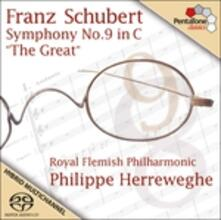 Sinfonia n.9 - SuperAudio CD ibrido di Franz Schubert,Philippe Herreweghe,Royal Flemish Philharmonic Orchestra
