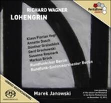 Lohengrin - SuperAudio CD ibrido di Richard Wagner,Marek Janowski