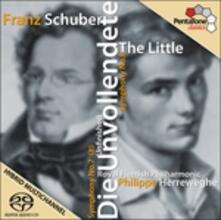 Sinfonie n.6, n.7 - SuperAudio CD ibrido di Franz Schubert,Philippe Herreweghe,Royal Flemish Philharmonic Orchestra