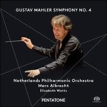 Sinfonia n.4 - SuperAudio CD di Gustav Mahler,Netherlands Philharmonic Orchestra,Marc Albrecht