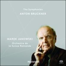 Sinfonie complete - Messa N.3 - SuperAudio CD ibrido di Anton Bruckner,Marek Janowski