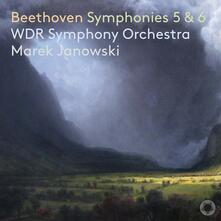 Sinfonie n.5 e 6 - SuperAudio CD di Ludwig van Beethoven,Marek Janowski,WDR Symphony Orchestra