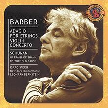 Leonard Bernstein.. - CD Audio di Leonard Bernstein,Samuel Barber