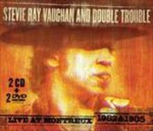 Live at Montreux - CD Audio + DVD di Stevie Ray Vaughan