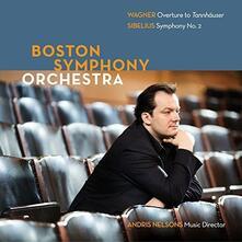 Wagner & Sibelius - CD Audio di Jean Sibelius,Richard Wagner,Boston Symphony Orchestra
