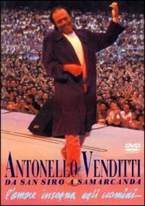 Antonello Venditti. Da San Siro a Samarcanda - DVD