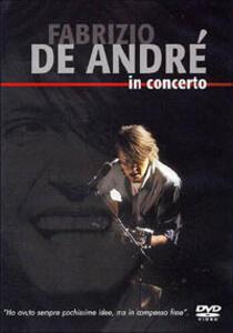 Fabrizio De Andrè in concerto - DVD