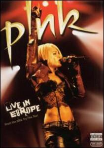 Pink. Live in Europe - DVD
