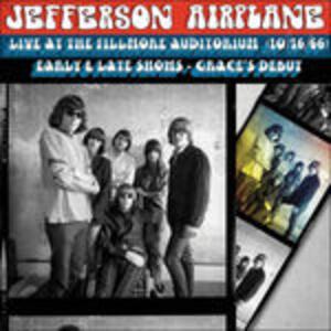 Live at the Fillmore - CD Audio di Jefferson Airplane