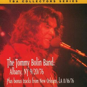 Live In Albany 9-20-1976 - CD Audio di Tommy Bolin
