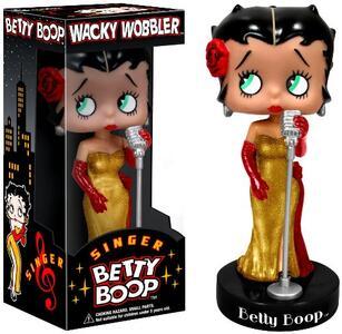 Funko Bobble Head Knocker Wacky Wobbler Betty Boop Singer Boop Figure - 3