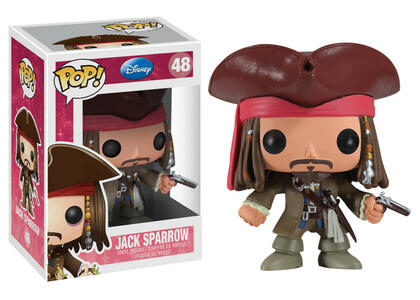 Funko POP! Pirates Of The Caribbean. Jack Sparrow - 2