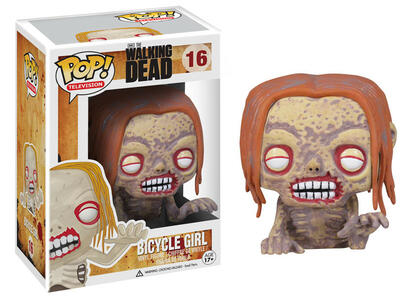 Funko POP! The Walking Dead. Zombie Donna in Bicicletta