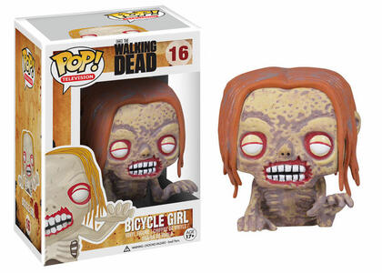 Funko POP! The Walking Dead. Zombie Donna in Bicicletta - 3