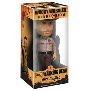 Action figure Rick Grimes. The Walking Dead Funko Wacky Wobbler