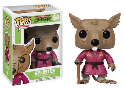 Funko POP! Teenage Mutant Ninja Turtles. Splinter - 3