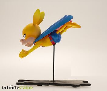 Giocattolo Rat-Man. Infinite Collection n. 05. Rat-Man Fly Statue Infinite