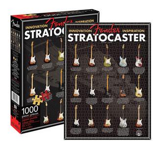 Giocattolo Fender. Puzzle Stratocaster Evolution Aquarius