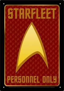 Star Trek Personnel Tin Sign