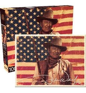 Puzzle John Wayne Flag 1000 pezzi