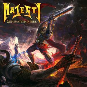 Generation Steel - CD Audio di Majesty