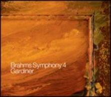 Sinfonia n.4 - CD Audio di Johannes Brahms,John Eliot Gardiner,Orchestre Révolutionnaire et Romantique