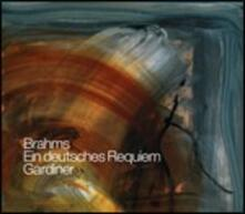 Un Requiem tedesco (Ein Deutsches Requiem) - CD Audio di Johannes Brahms,John Eliot Gardiner,Orchestre Révolutionnaire et Romantique,Monteverdi Choir