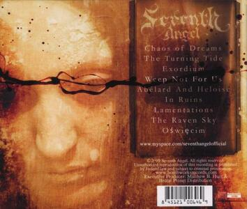 The Dust of Years - CD Audio di Seventh Angel - 2
