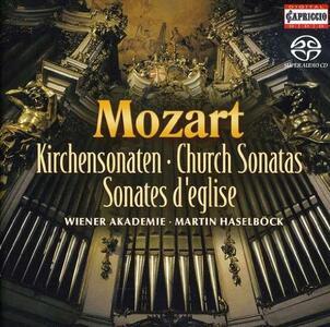 Sonate da Chiesa - CD Audio di Wolfgang Amadeus Mozart