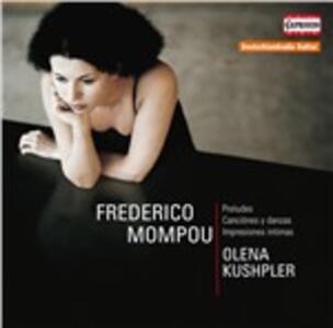Olena Kushpler - CD Audio di Frederic Mompou