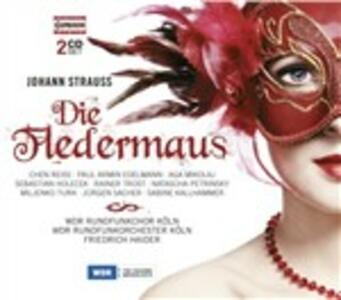 Il pipistrello (Die Fledermaus) - CD Audio di Johann Strauss