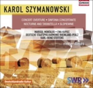 Sinfonia concertante op.6 - CD Audio di Karol Szymanowski